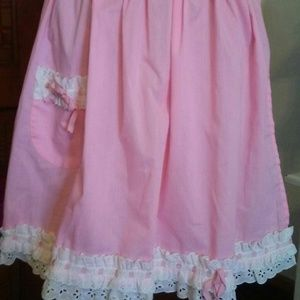 Other - Pretty in Pink Vintage Apron